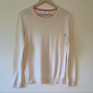 Vineyard Vines wool cashmere cream sweater